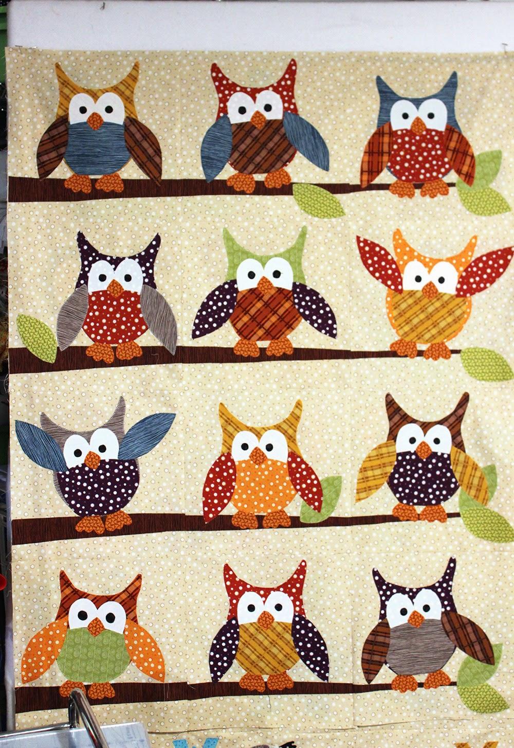 Jennifer Jangles Blog Okey Dokey Owl And Friends Quilt
