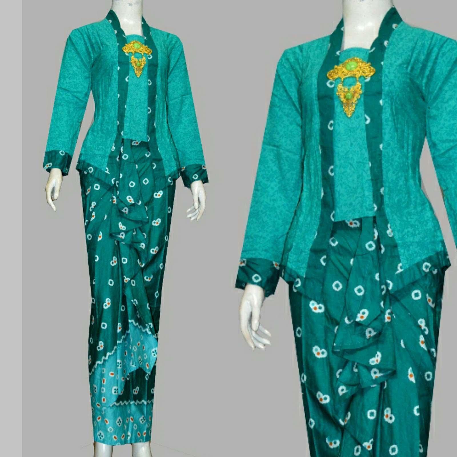 21 Model Baju Batik Kutu Baru Modern Untuk Wanita
