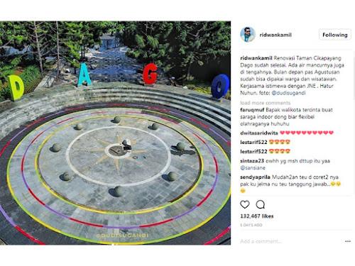 Taman Cikapayang Dago Bandung