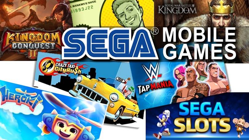 Δωρεάν Παιχνίδια για Android και iOS Συσκευές από την SEGA