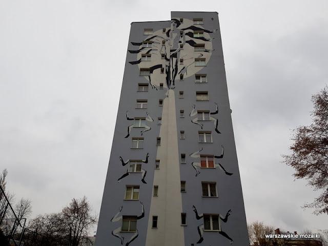 Warszawa Warsaw graffiti mural streetart blok