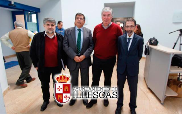 delegado de la Junta, Javier Nicolás, conoce de primera mano el Centro de Desarrollo Infantil y Atención Temprana de Illescas. IMAGEN COMUNICACION ILLESCAS
