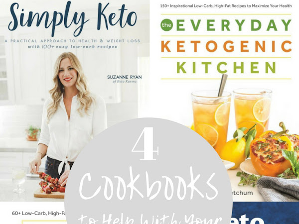 4 Cookbooks to Help With Your Keto Journey
