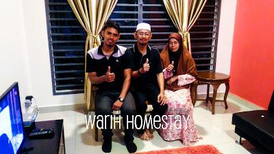 Warih-Homestay-Zakwan-Bersama-Ibubapa-Tersayang