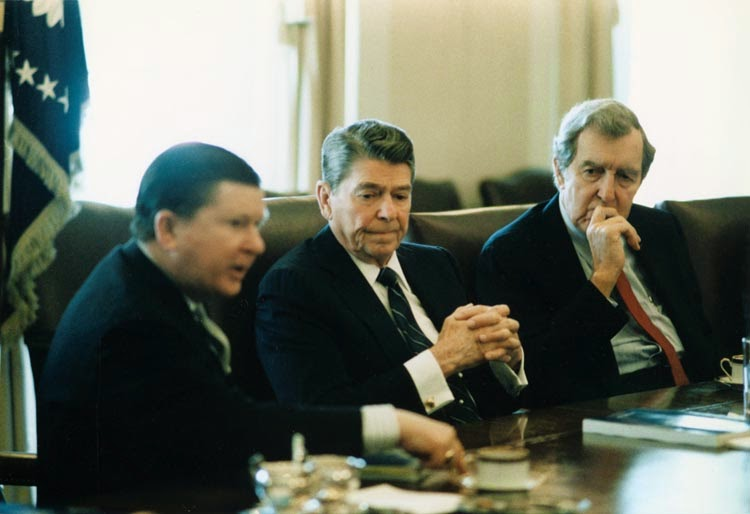 reagan and congress relationship
