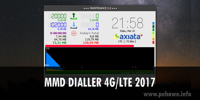 Download MMD Dialler 4G/LTE Terbaru 2017