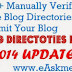 121+ Manually Verified Free Blog Directories To Submit Your Blog