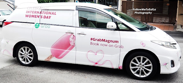 Grab Is Delivering Magnum Ice Cream For International Women's Day In The Klang Valley
