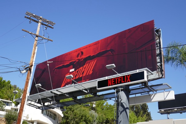Daredevil season 3 billboard