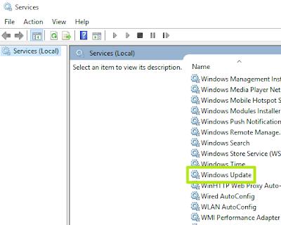 Administrative Tools pada Windows 10