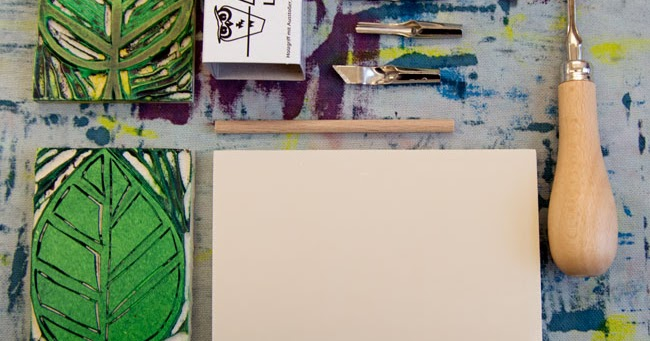 textile ideen stempel aus gummi selbst schnitzen. Black Bedroom Furniture Sets. Home Design Ideas