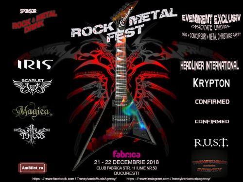 Rock and Metal Fest in Club Fabrica din Bucuresti