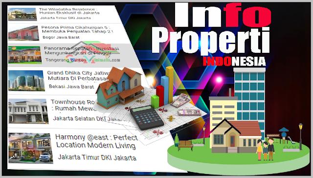 Properti Baru Utama Di Indonesia