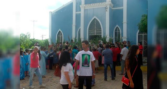 O encerramento da semana santa acontece no próximo domingo no cristo ressuscitado - Foto/GirlenoVeras/S1Notícias