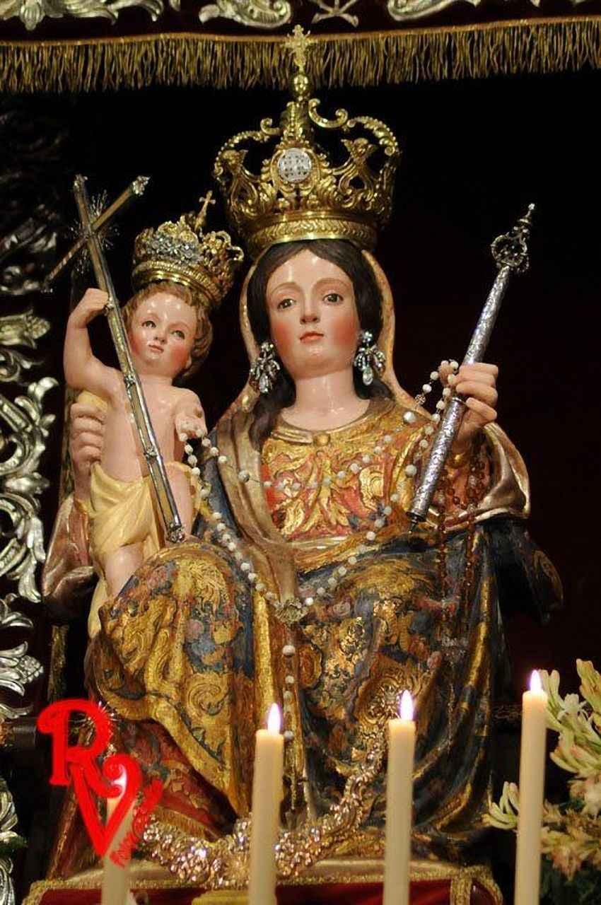 Nossa Senhora do Rosário, dita 'de los Húmeros', Sevilha, Espanha.