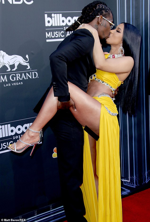 Cardi B stripped off for an Instagram video during the 2019 Billboard Music Awards