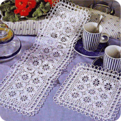 Camino de mesa a Crochet o Ganchillo