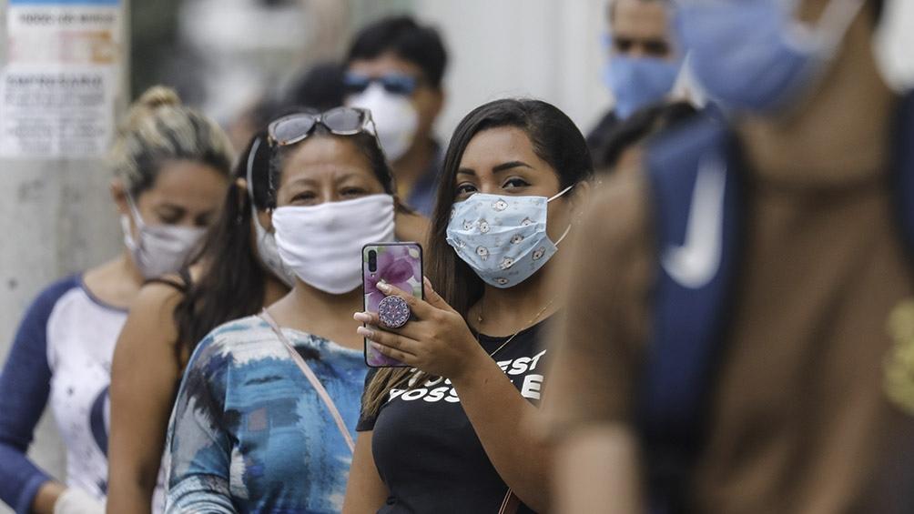 El 80% de los casos de coronavirus en Perú son asintomáticos