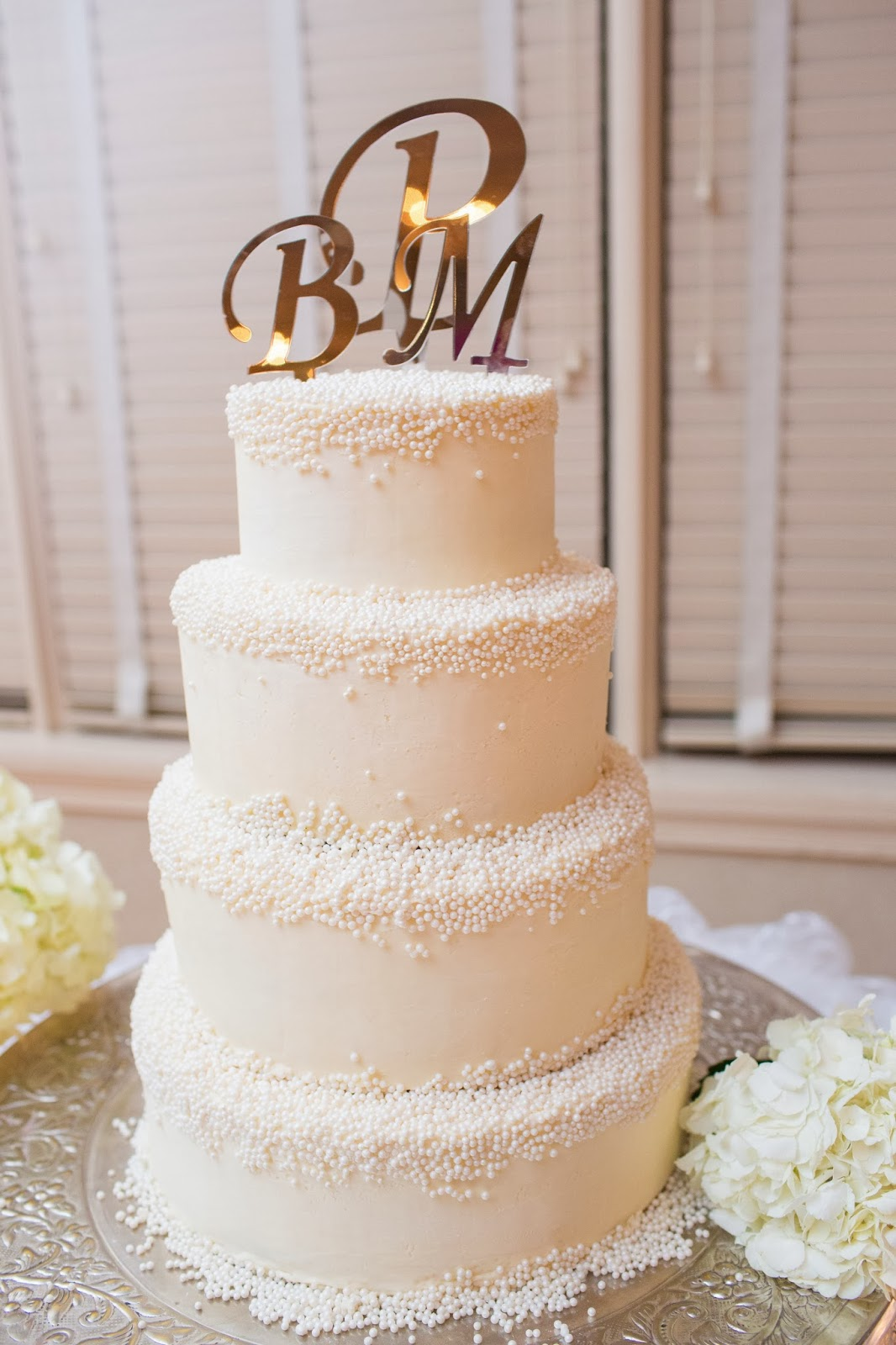 Virgina Beach Wedding Cake