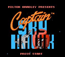 Viviendo Entre Bits Analisis A Captain Skyhawk Nes
