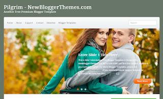 Pilgrim+Blogger+Template