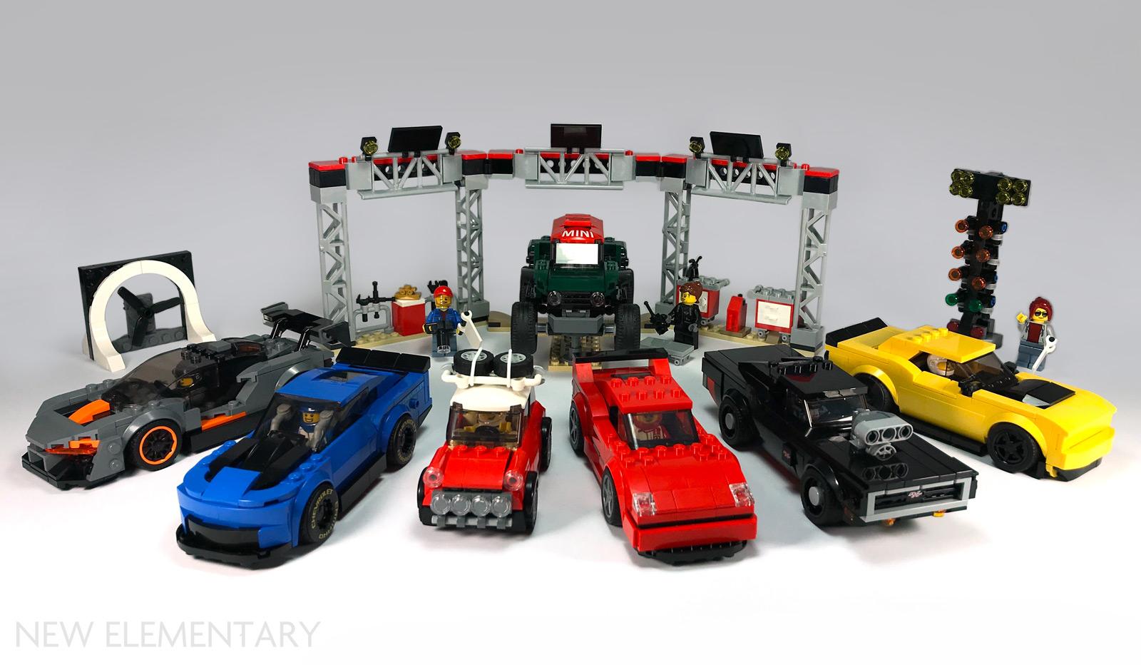 Sticker Sheet from 76895 Ferrari F8 Tributo NEW LEGO Parts NEW