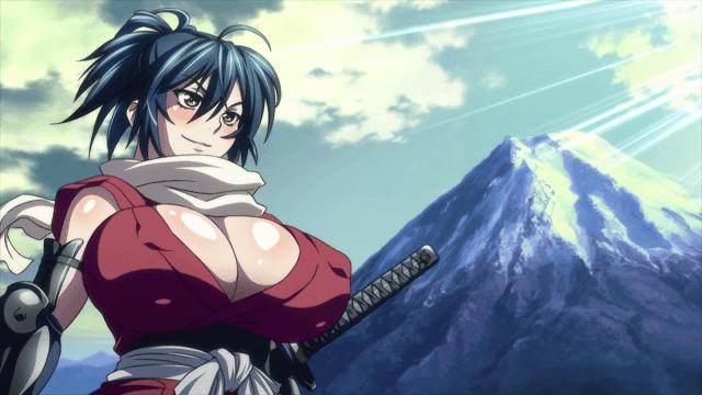 chifusa adalah seorang samurai cantik dan seksi