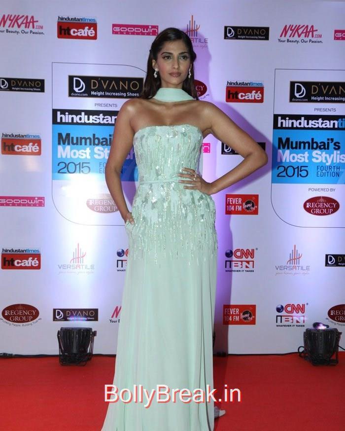 Sonam Kapoor, Mumbai's Most Stylish Awards 2015 Full Photo Gallery