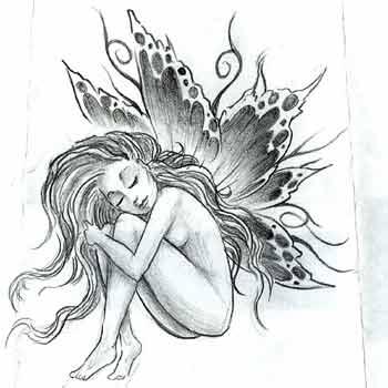 hannikate: cute fairy tattoos designs for girls