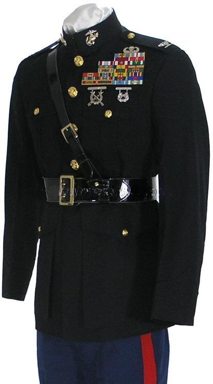 Marine Officer Dress Blue Uniform 100