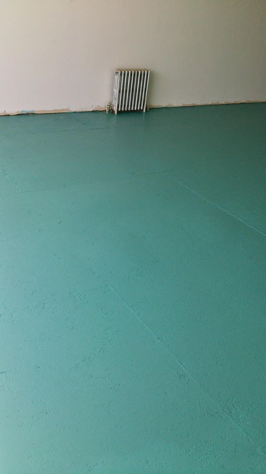 DIY Painted Subfloor