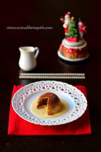 riciclo pandoro mousse cioccolato salsa vaniglia ricetta