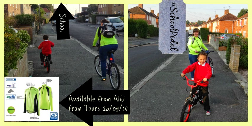 Aldi Ultra Bright Cycling Shirt Special Buy