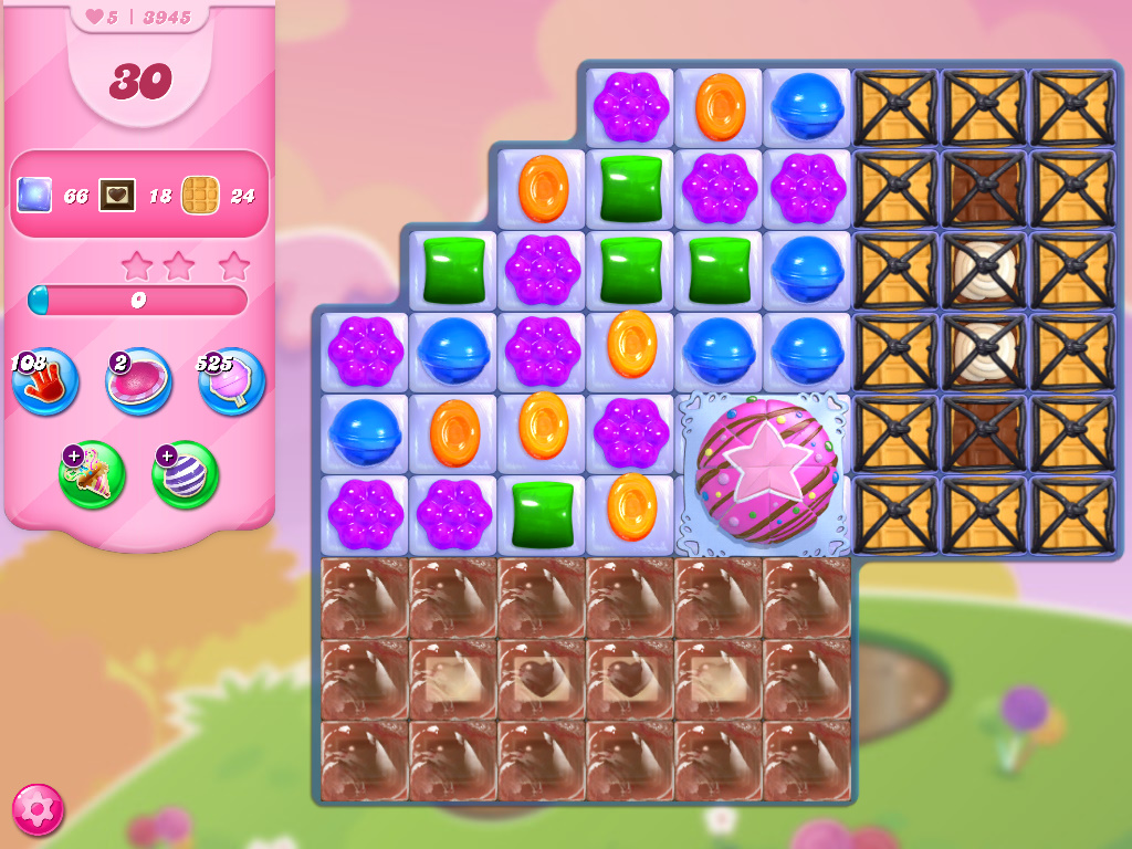 Candy Crush Saga level 3945