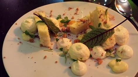 Dessert néo bistrot La Plancha Boulogne-Billancourt.