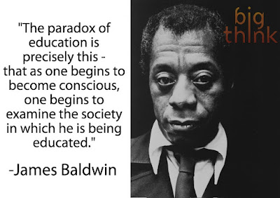 The paradox of education...as one... become(s) conscious one ... examine(s) the society in which one is being educated
