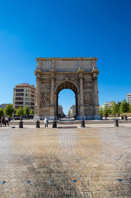 Arc de triomphe, Marsiglia