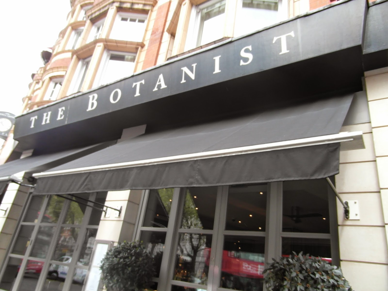 Breakfast The Botanist Sloane Square London