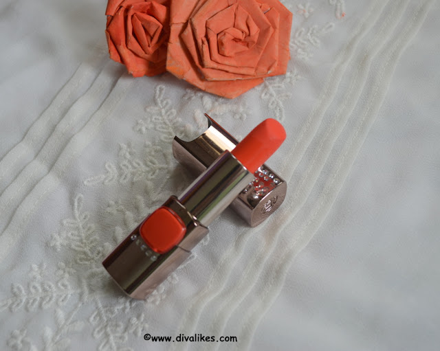 L'Oreal Paris Color Riche Moist Matte Orange Power Shade