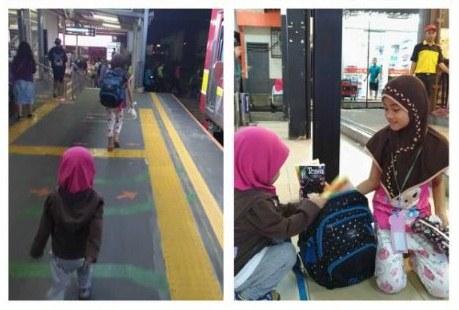 Teguran Keras untuk Kita dari Kisah Gadis Kecil Penjual Tisu di Stasiun Cawang