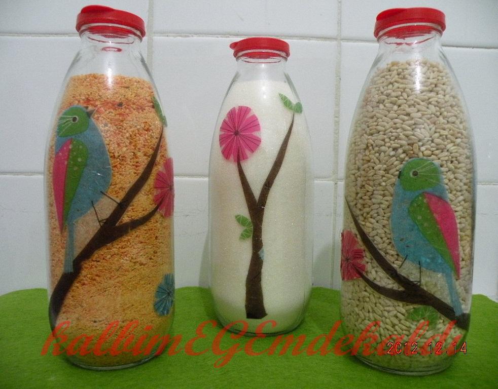 şişe süsleme sanatı