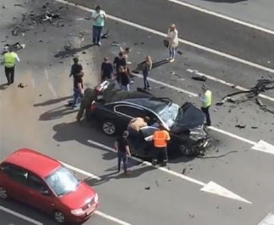putin car accident