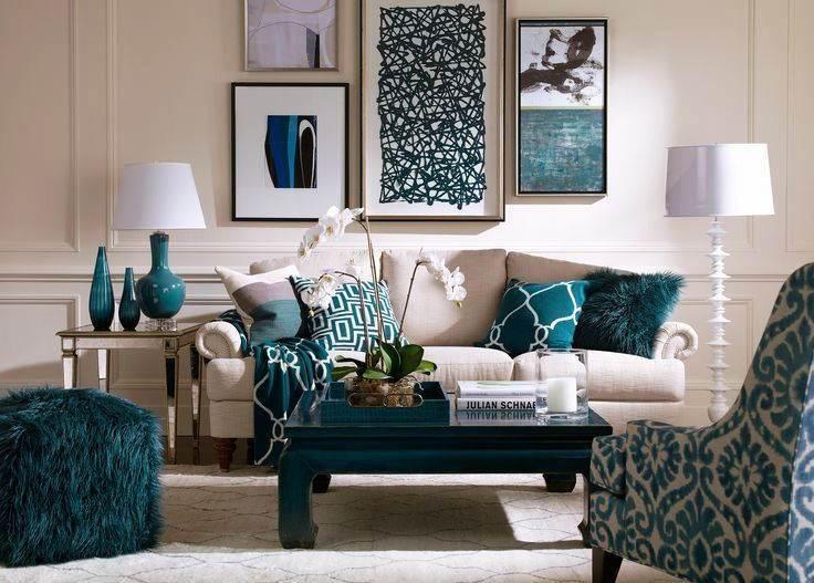 Kombinasi Warna Cat Ruang Tamu Modern dan Furniture