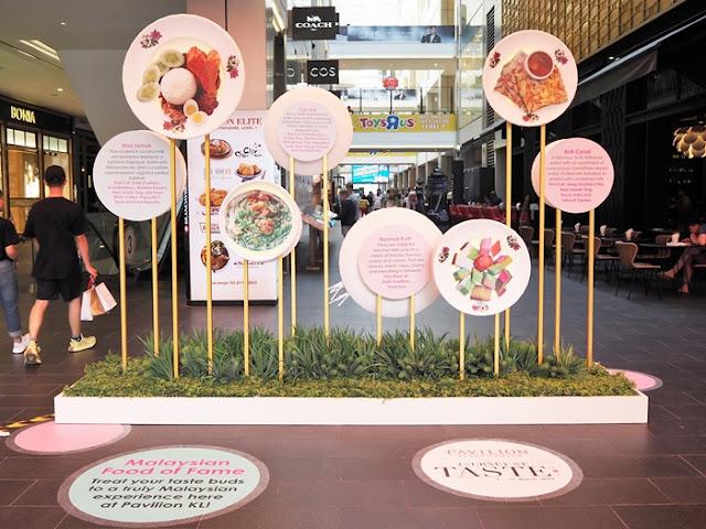 The Connection, Insta Walk of Fame, Pavilion KL Journey of Taste, KGB, Tower Burger, food