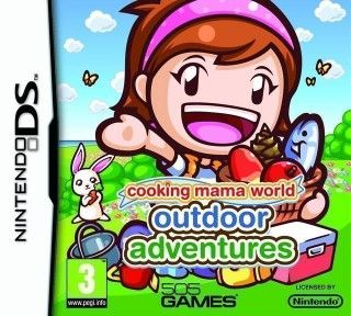 Descargar Cooking Mama World: Outdoor Adventures, Nds, Español, mega, mediafire