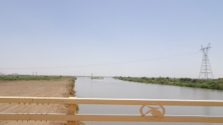 Long river in Africa that flows through Sudan