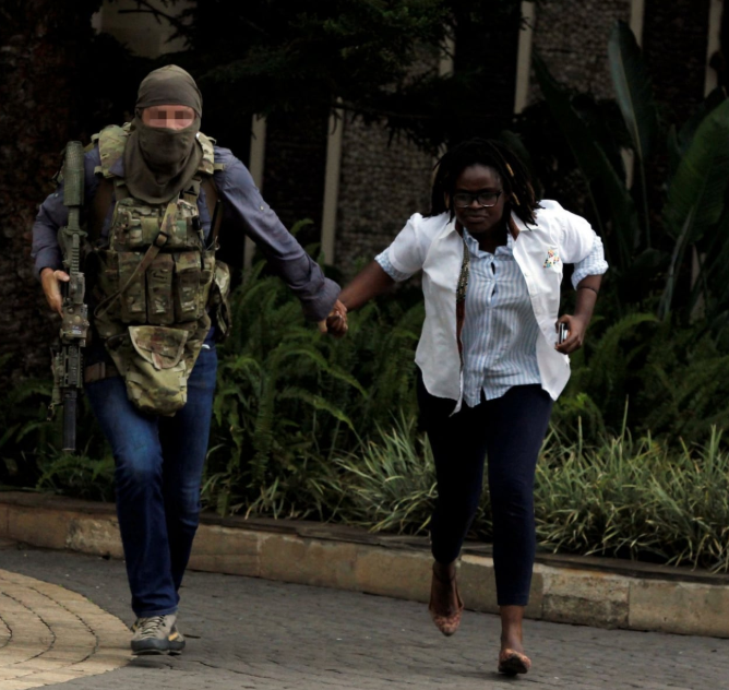 "SAS hero who saved ""dozens of lives"" during the 19-hour attack on Nairobi's DusitD2 hotel in line to receive gallantry award"