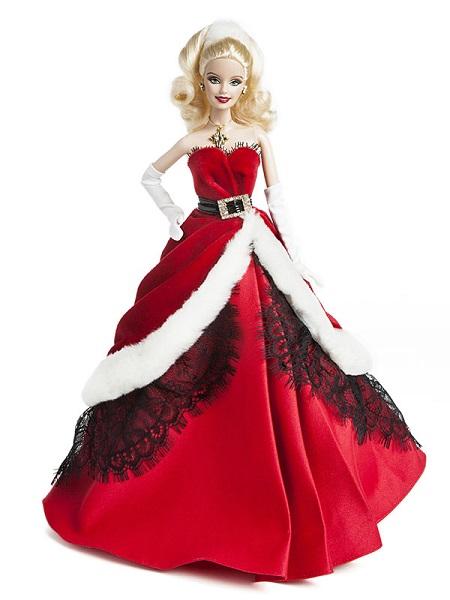 Barbie Coleção Feliz Natal 2007