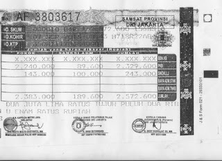 Pajak Kendaraan Bermotor (PKB) DKI Jakarta