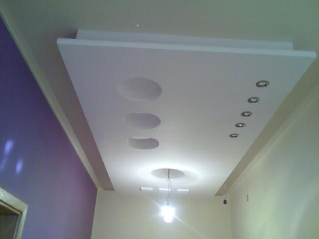 الجبس المغربي العصري- platre marocain - decoration platre plafond